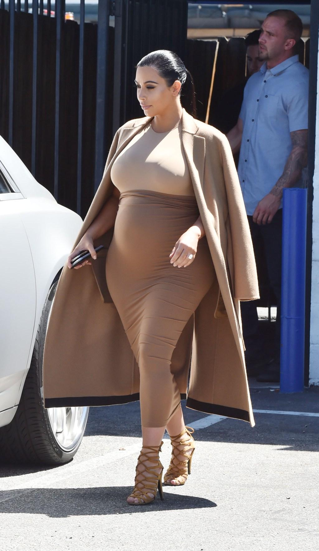Kim Kardashian in Studio City