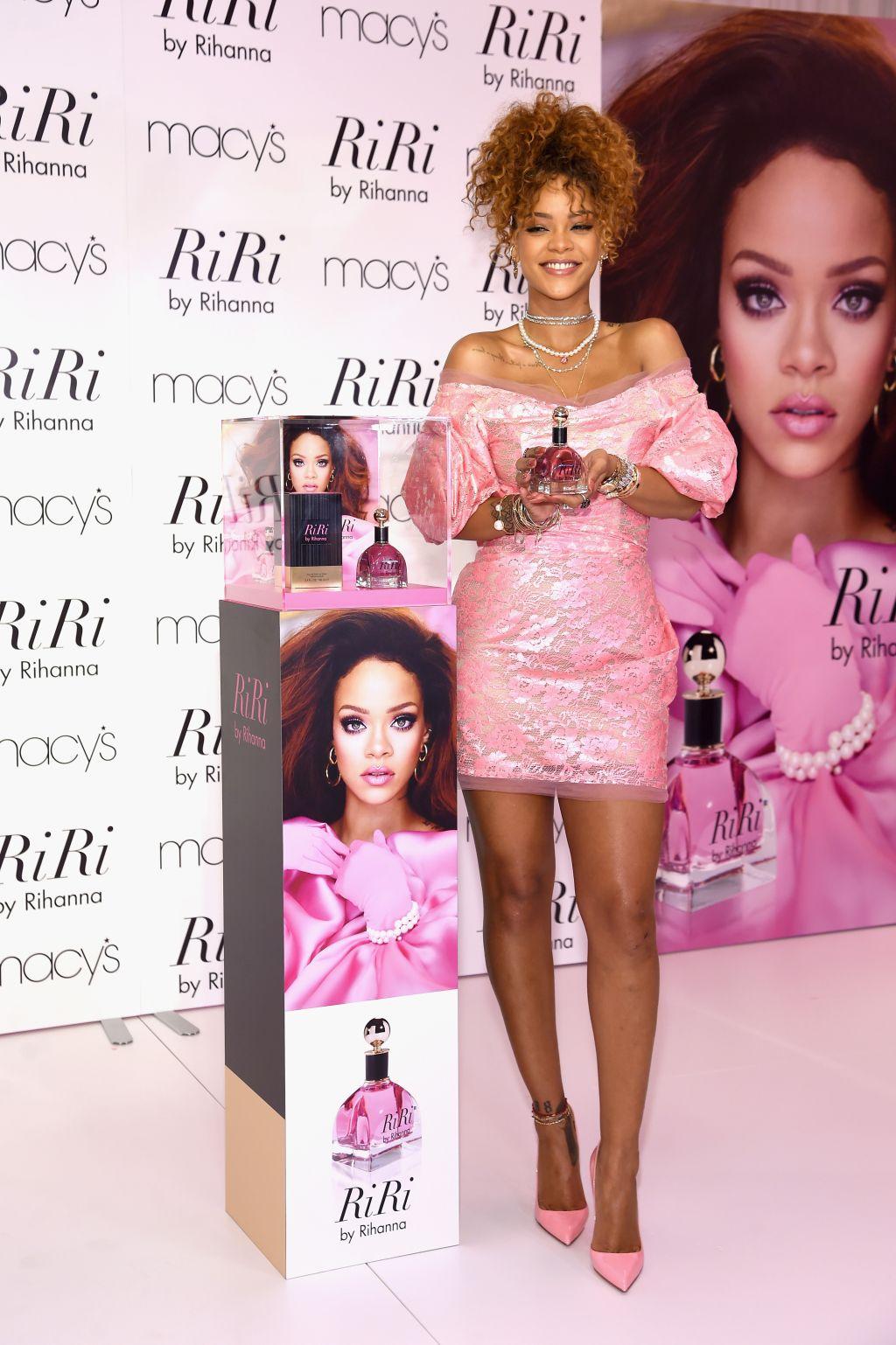 Rihanna at 'RiRi' launch in Brooklyn