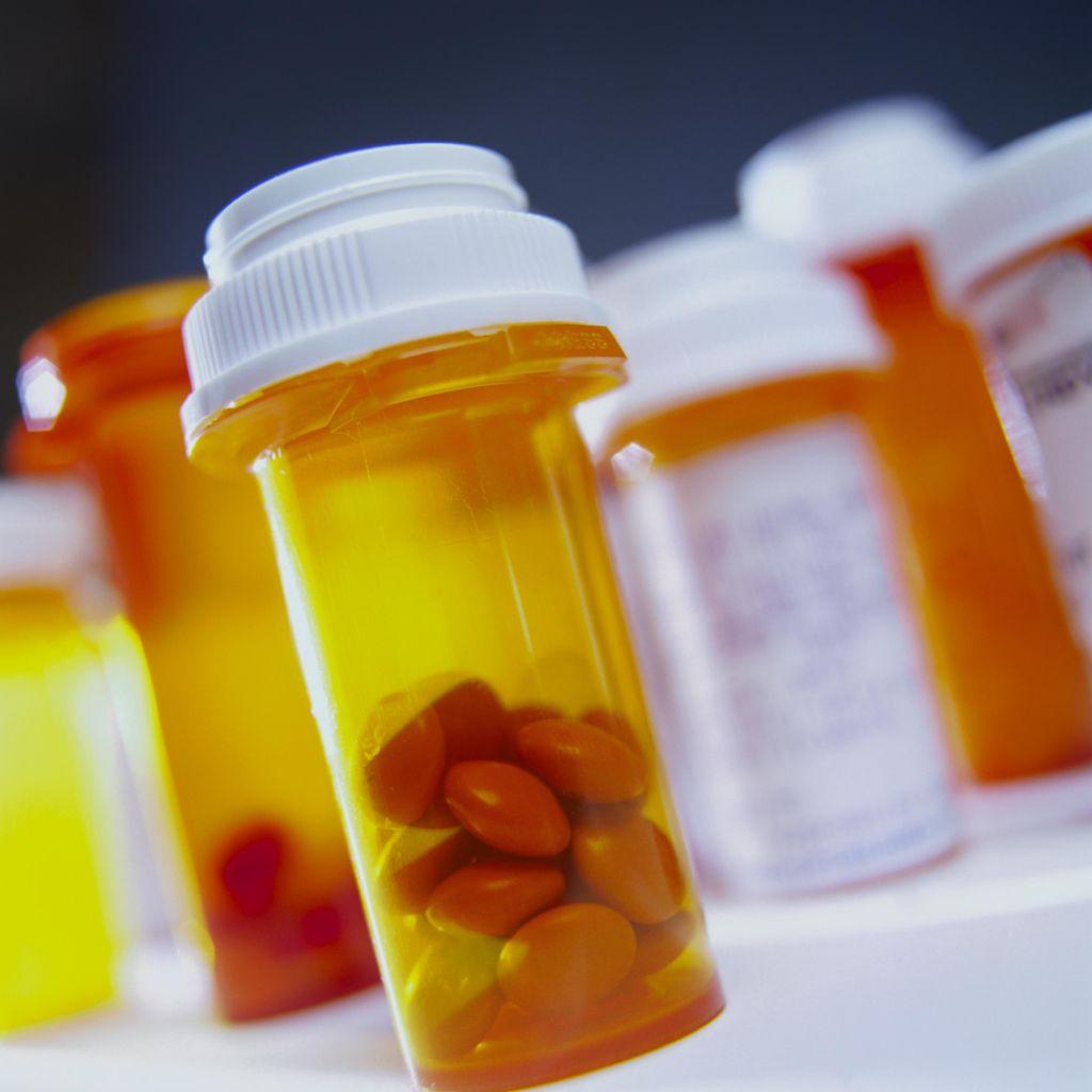 Vials of Pills
