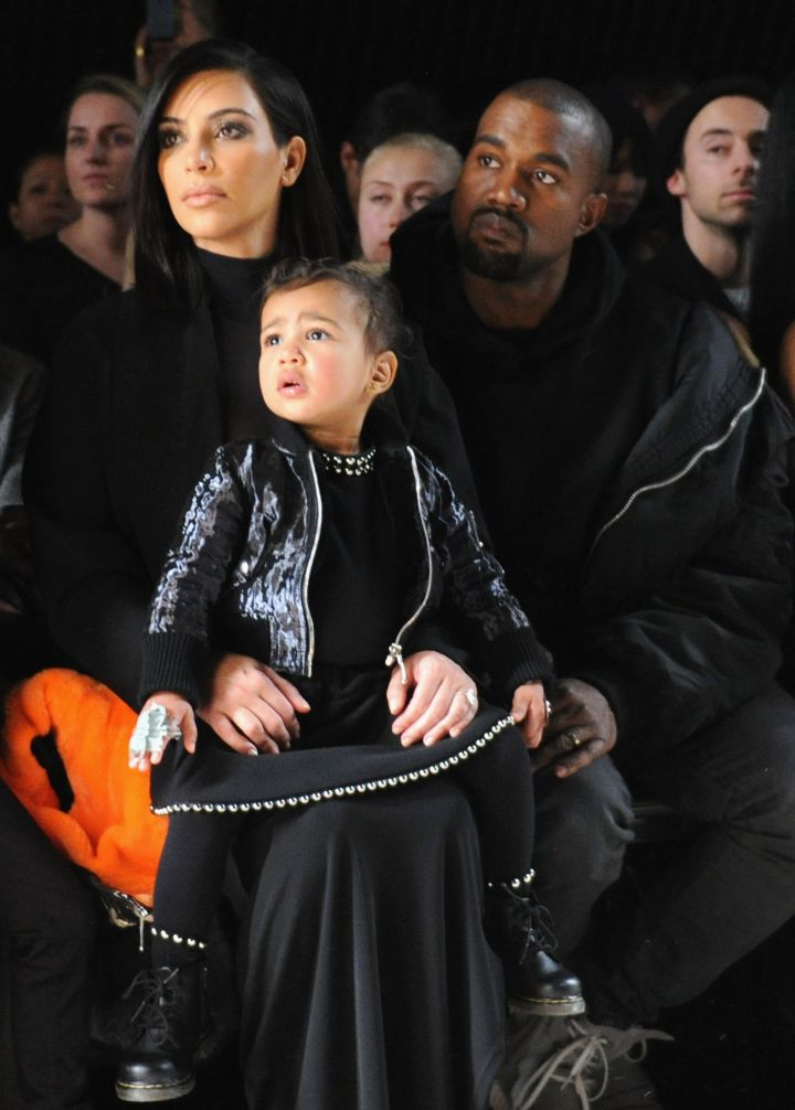 North and 'Ye get all matchy, matchy on us.
