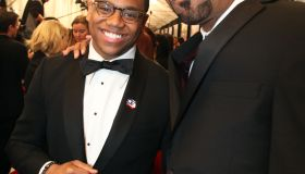 Mack Wilds and Method Man at Red Tails premiere
