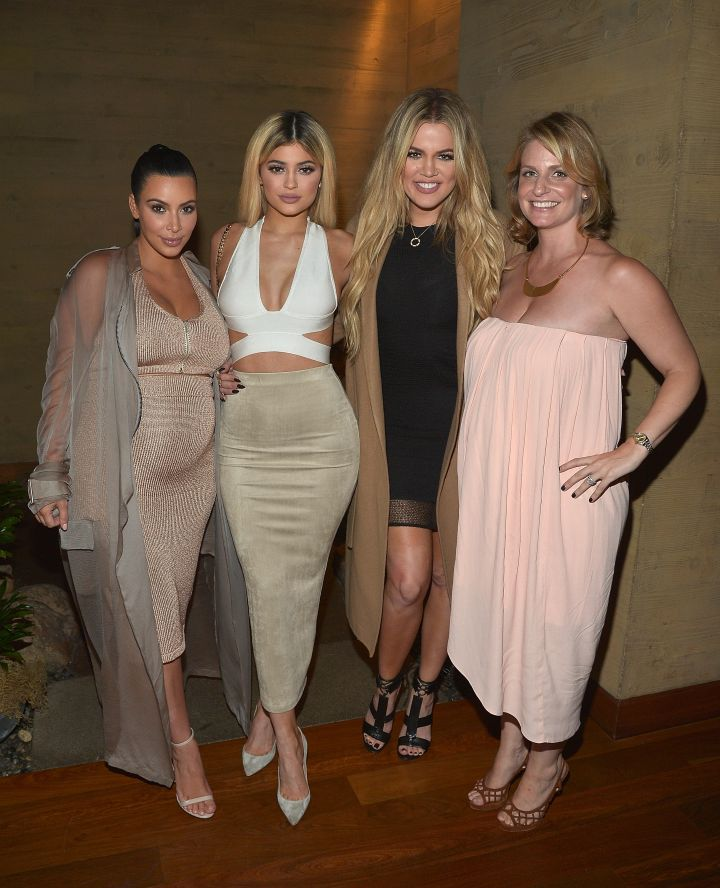 Always on Fleek! Here's Kim Kardashian West, Kylie Jenner, Khloe Kardashian, and Kris Jenner hosting a dinner and preview of their new apps launching soon at Nobu Malibu.