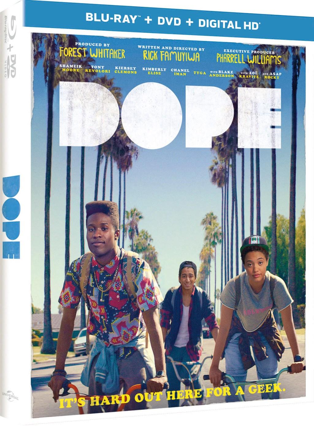 Dope Movie DVD cover art