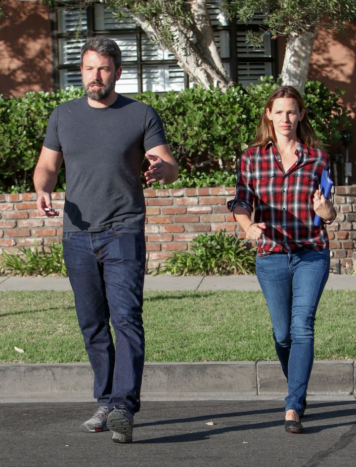 Estranged couple Ben Affleck and Jennifer Garner were spotted heading to a doctor's appointment together.