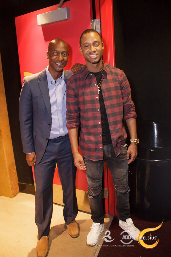 Stephen Hill & Terrence J were all smiles.