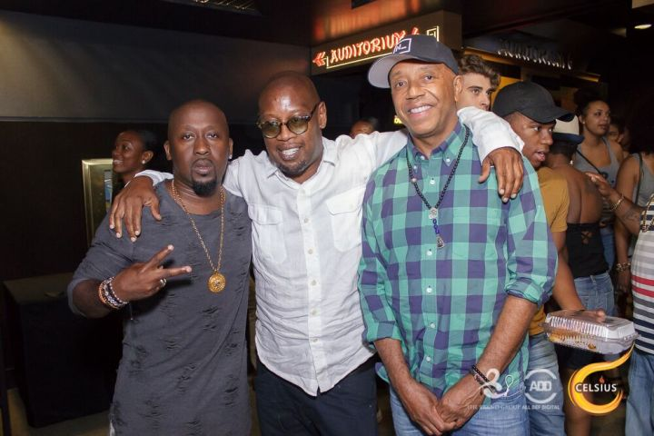 O'Neal McKnight, Andre Harrell & Russell Simmons came through ADD's All Def Comedy Live, sponsored by Celsius.