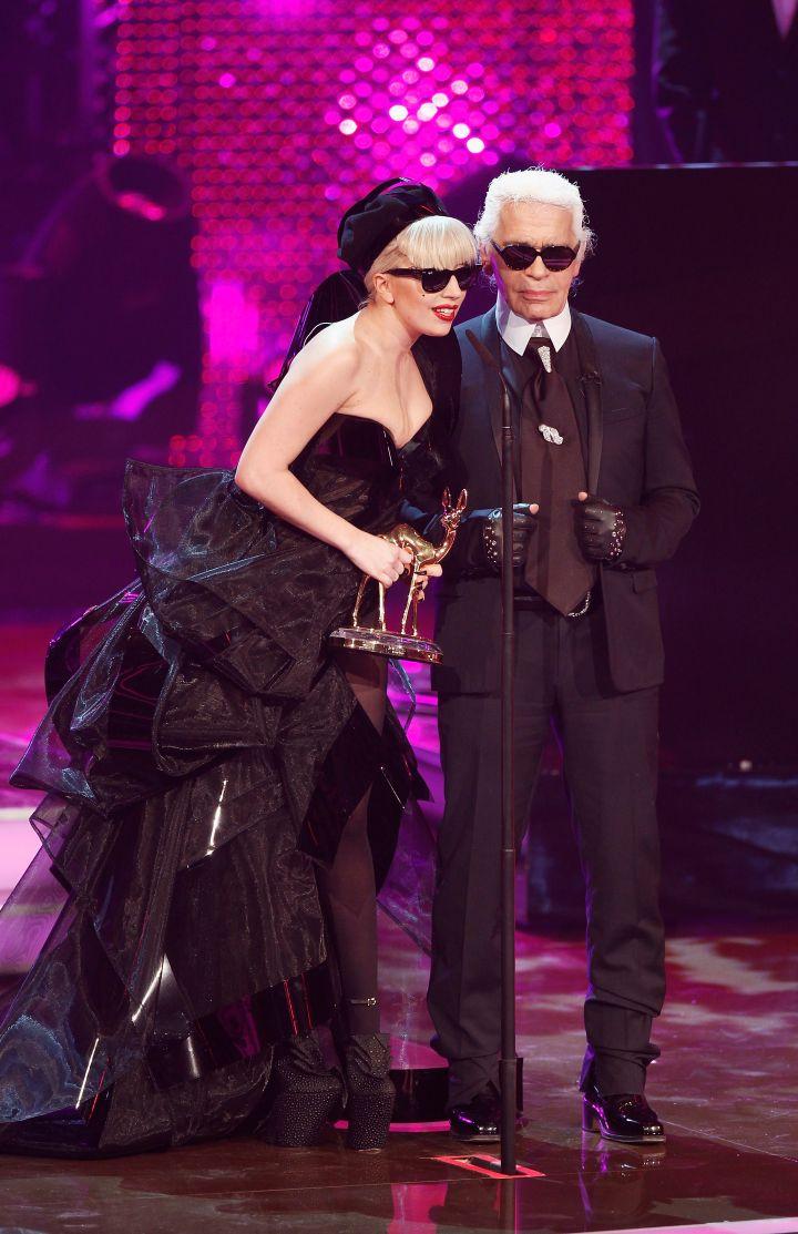 Karl & Gaga are like two peas in a pod.
