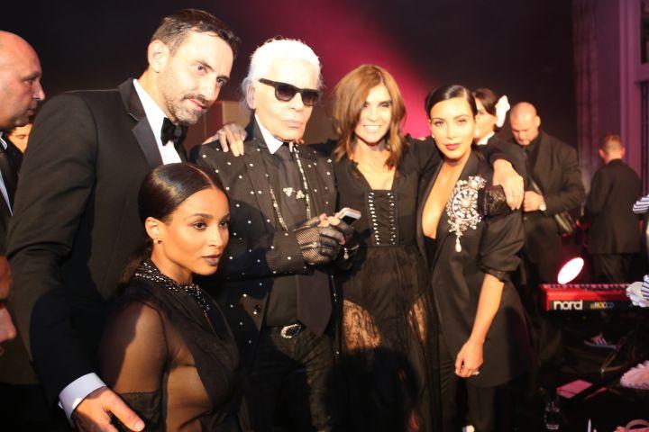 Karl, Kim, Ciara, Carine Roitfeld, and Riccardo Tisci are fashion's elite.