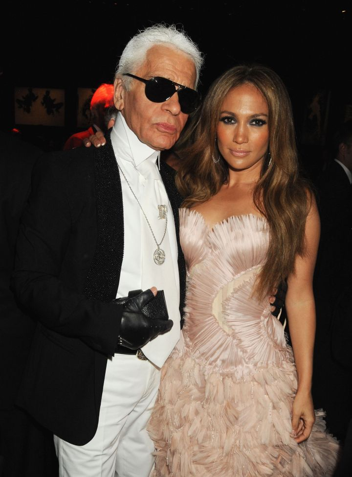 Karl with Jenny From The Block.
