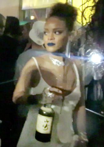Rihanna NYFW