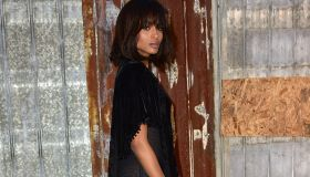 Ciara attends the Givenchy show during Spring 2016 New York Fashion Wee