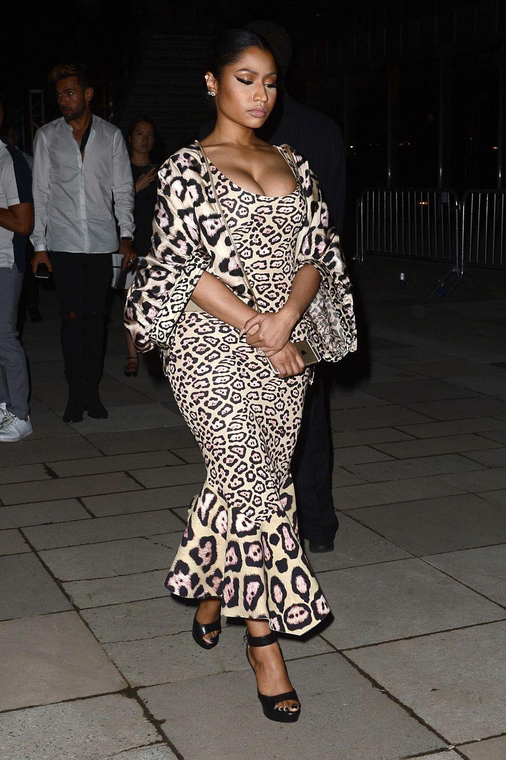 Nicki Minaj attends The Givenchy Show