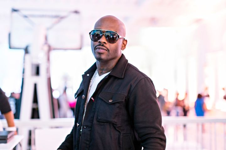Treach of Naughty By Nature at EA Sports' NBA Live 16 Preview in New York City.