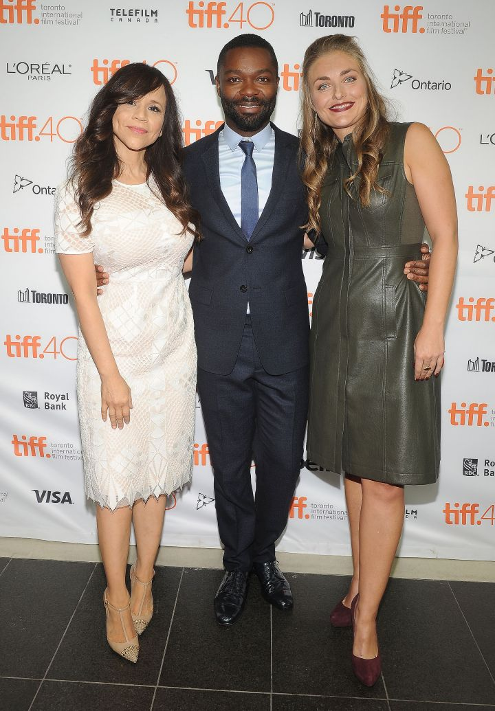 "Rosie Perez, David Oyelowo, and Maris Curran hit up the ""Five Nights In Maine"" Photo Call during the 2015 Toronto International Film Festival held at TIFF Bell Lightbox."