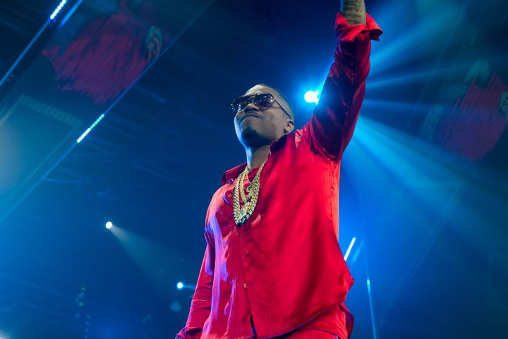 Hennessy V.S celebrated brand ambassador Nas' birthday at Drais Nightclub in Las Vegas. Hennessy presented Nas with a cake and bottle parade as he performed a special 45-minute set for partygoers.