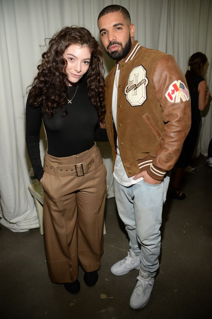 """Drake called Lorde his """"wifey (low key)"""" after this photo."""