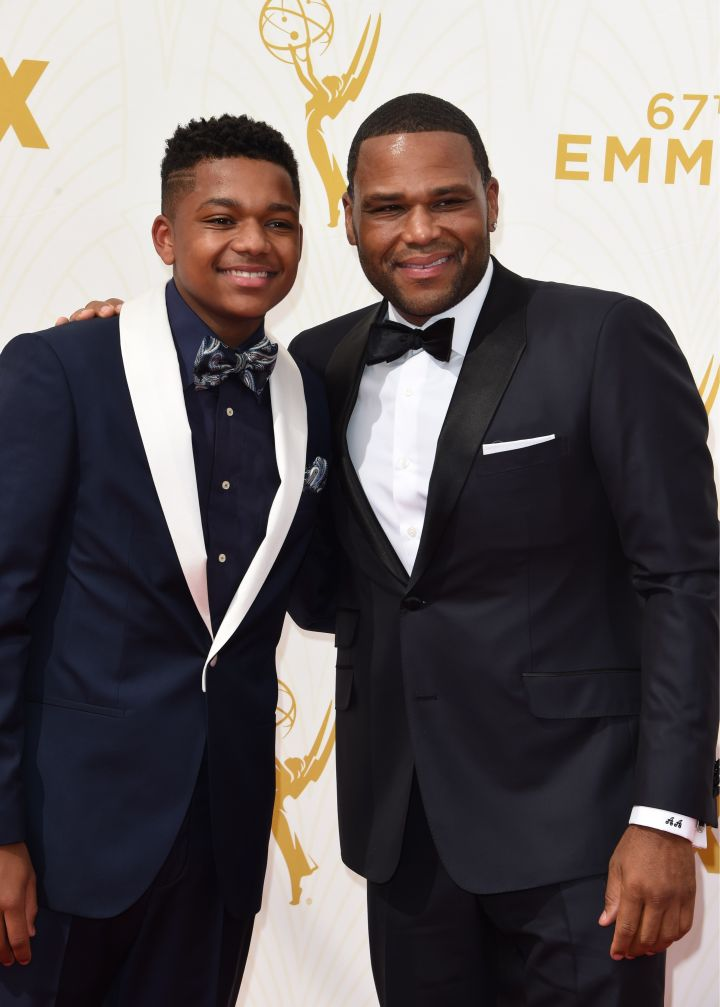 Nathan Anderson and actor Anthony Anderson
