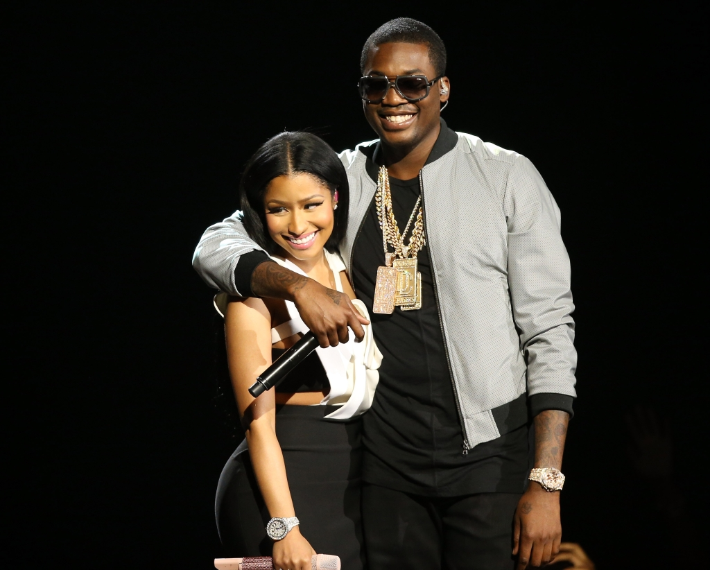Nicki Minaj & Meek Mill at 2015 BET Awards