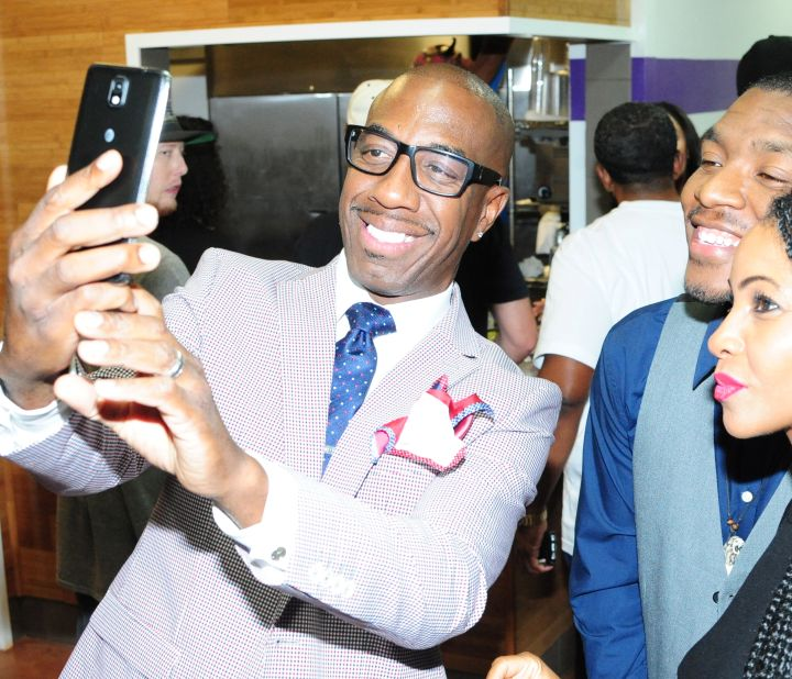 Selfies with JB Smoove.