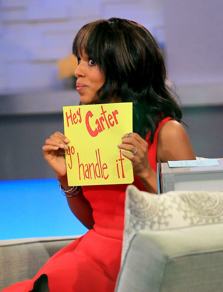 Here's your sign! Kerry Washington is about that 'handle it' life.