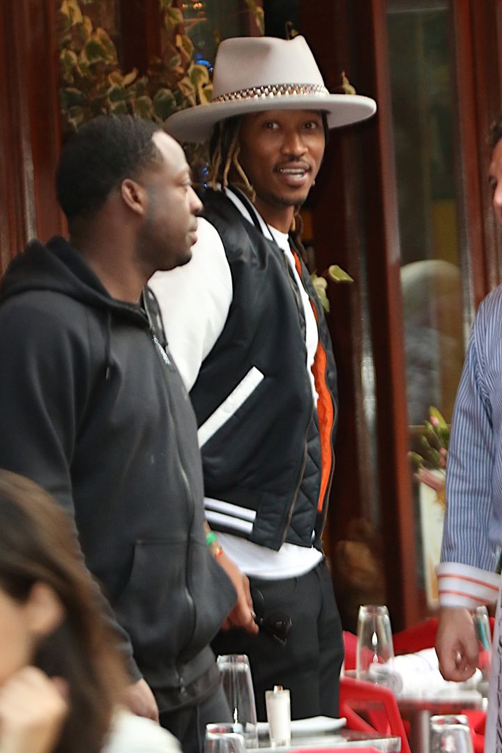 The Future Hive was buzzing as Future was spotted having lunch at Da Silvano restaurant in the West Village, NYC.