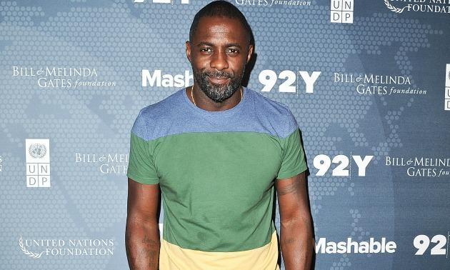 "We all know that beards are ""In,"" and Idris pulls one off flawlessly."