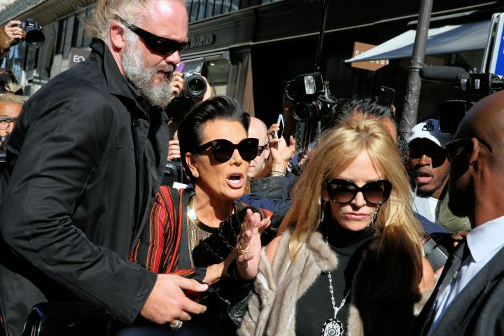 Kris Jenner is on the list for the Balmain show, or nah?
