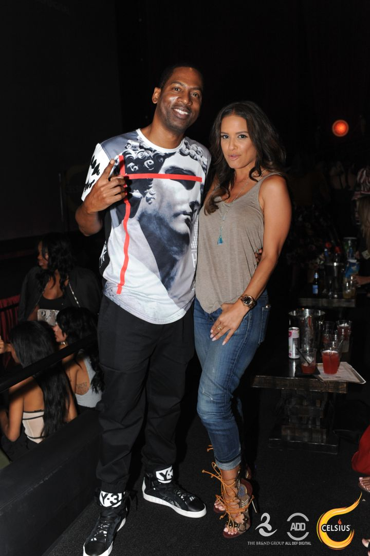 Comedian Tony Rock and Rocsi Diaz came through All Def Comedy Live in L.A.