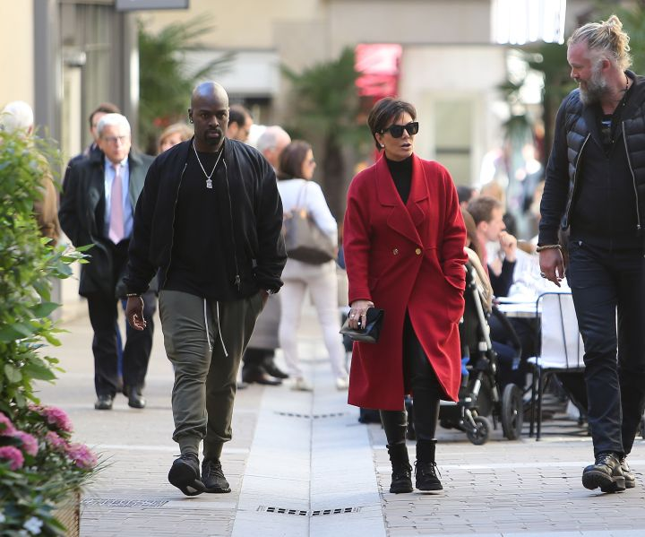Kris Jenner and boyfriend Corey Gamble ooze true love while out shopping at Hermes in Paris.