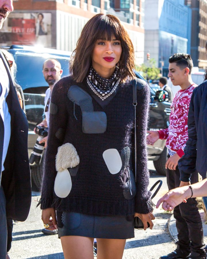 Ciara's sweater game is next level