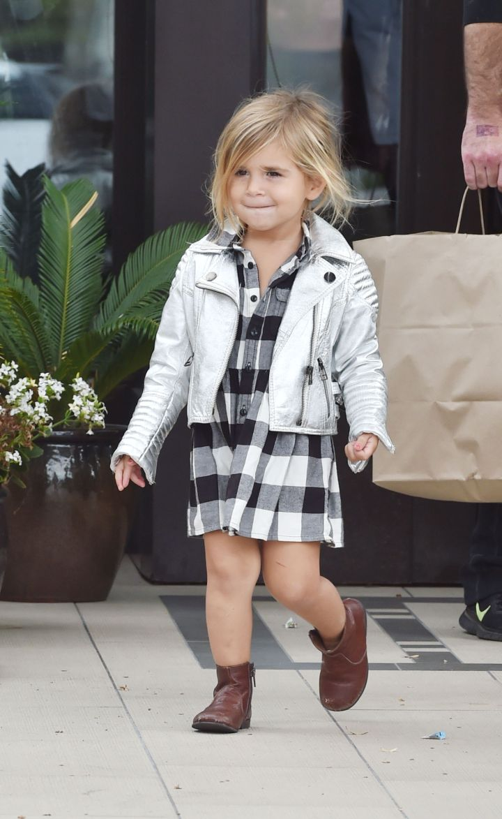 Kourtney Kardashian's daughter Penelope Disick might be runner up in the most stylish celeb baby category.