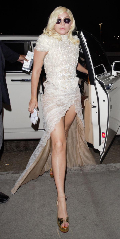 Lady Gaga understands fashion.