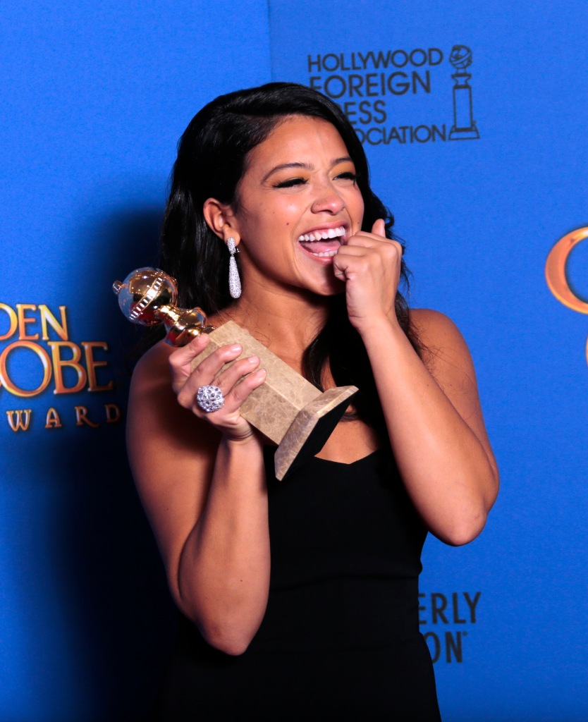 BEVERLY HILLS, CA - January 12, 2015 Gina Rodriguez, Jane The Virgin, Best performance by and