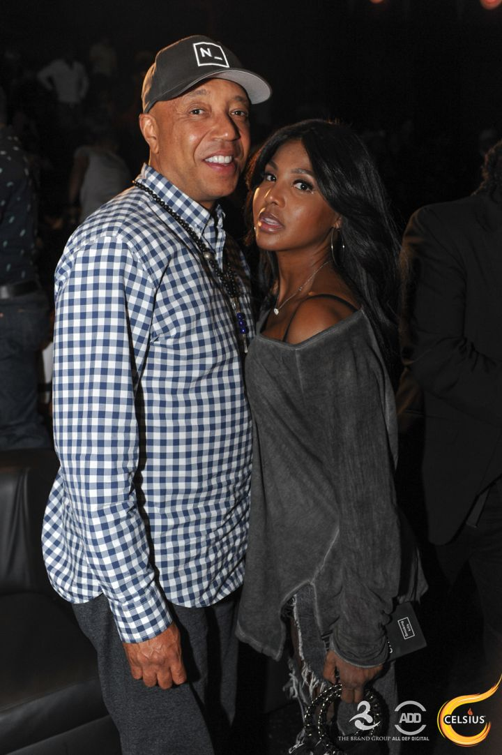 Russell Simmons and Toni Braxton celebrated their birthdays together at All Def Comedy Live in L.A.