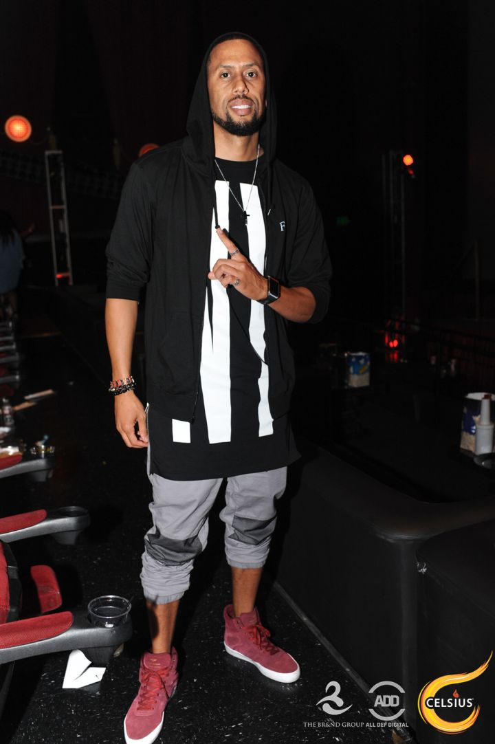 Affion Crockett poses at All Def Comedy Live.