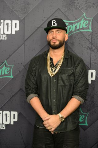 DJ Drama at the 2015 BET Hip-Hop Awards