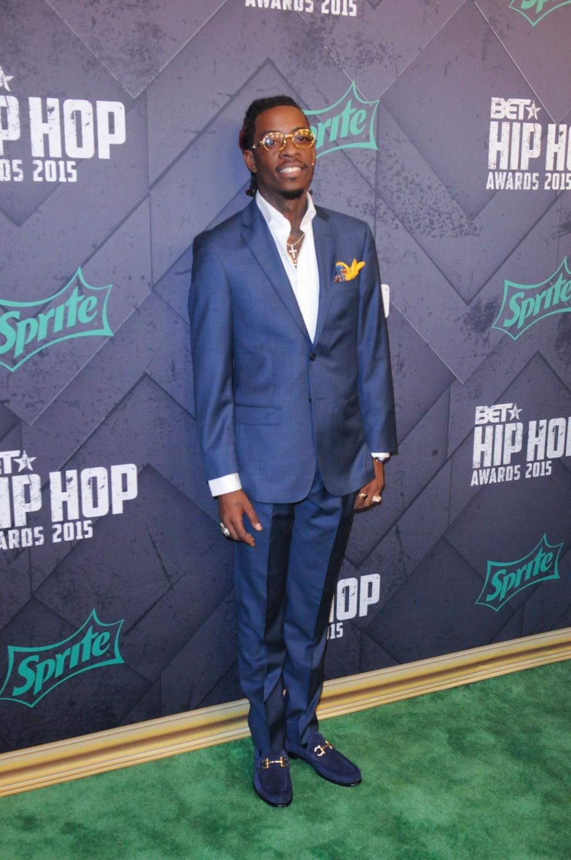Rich Homie Quan at the 2015 BET Hip-Hop Awards