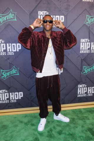Soulja Boy at the 2015 BET Hip-Hop Awards