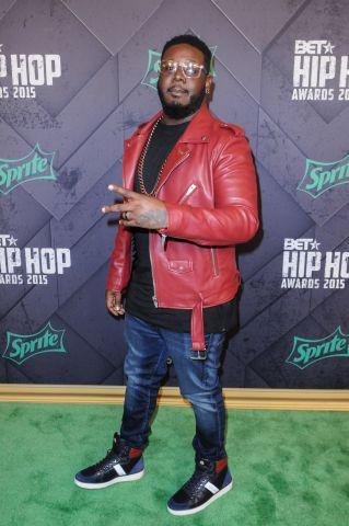 T-Pain at the 2015 BET Hip-Hop Awards