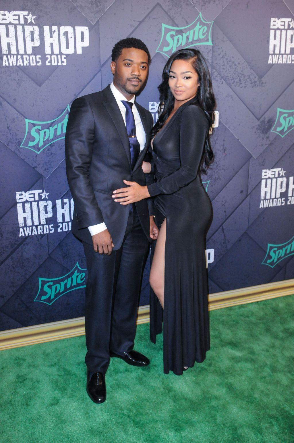 Ray J and Princess Love at the 2015 BET Hip-Hop Awards