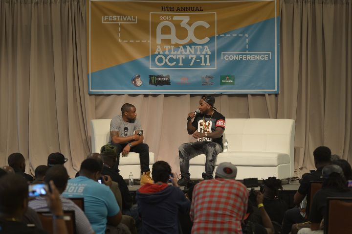 Marc Lamont Hill & Jeezy Have A A3Conversation In Atlanta.
