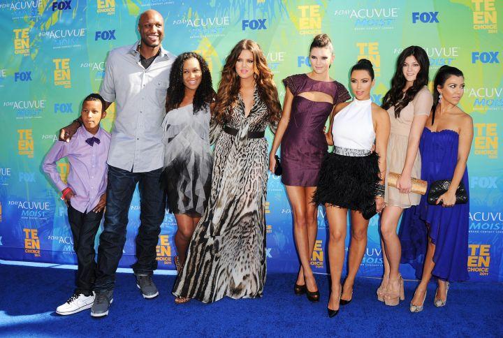 The Odom/Kardashian/Jenner crew