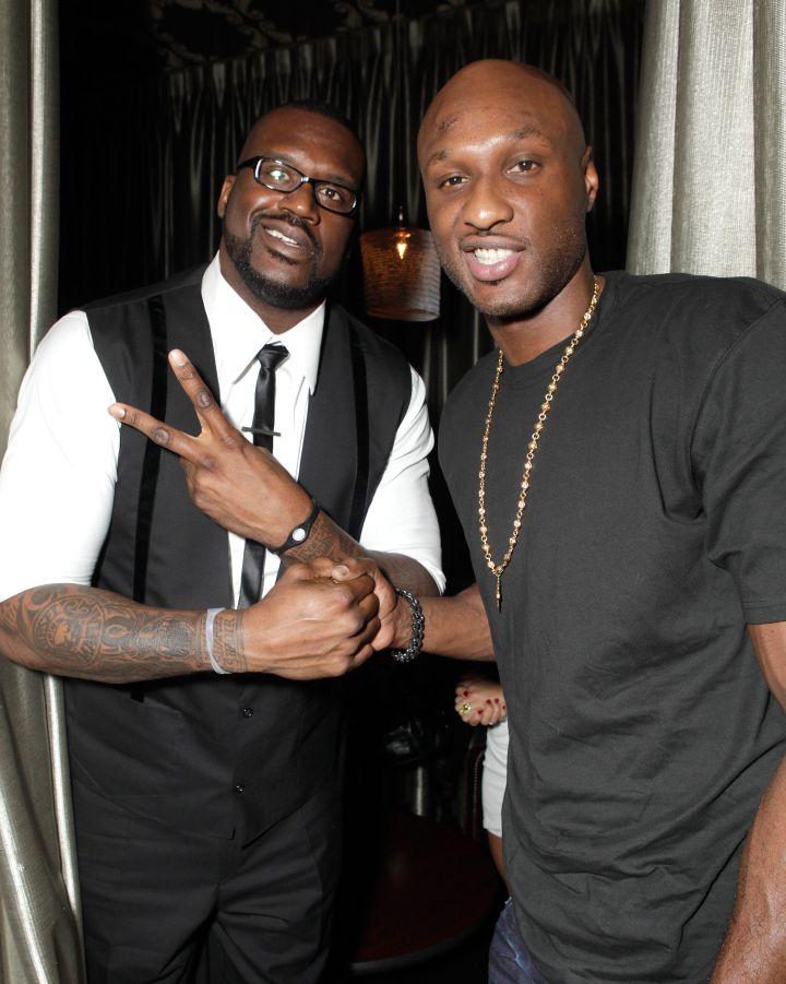 Shaq and Lamar