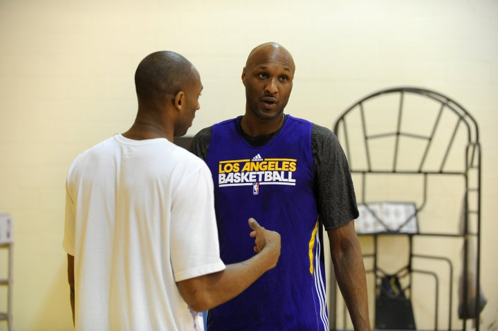 L.O and Kobe Bryant