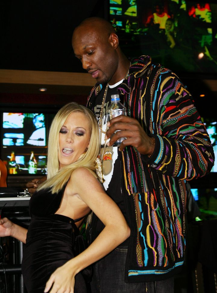 Pre-Khloe and Pre- Hank Baskett, Lamar use to party with Kendra Wilkinson