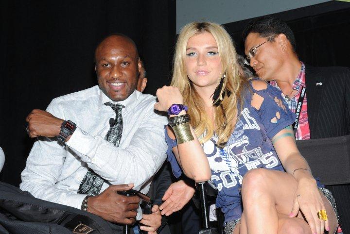 L.O and Kesha a few years back