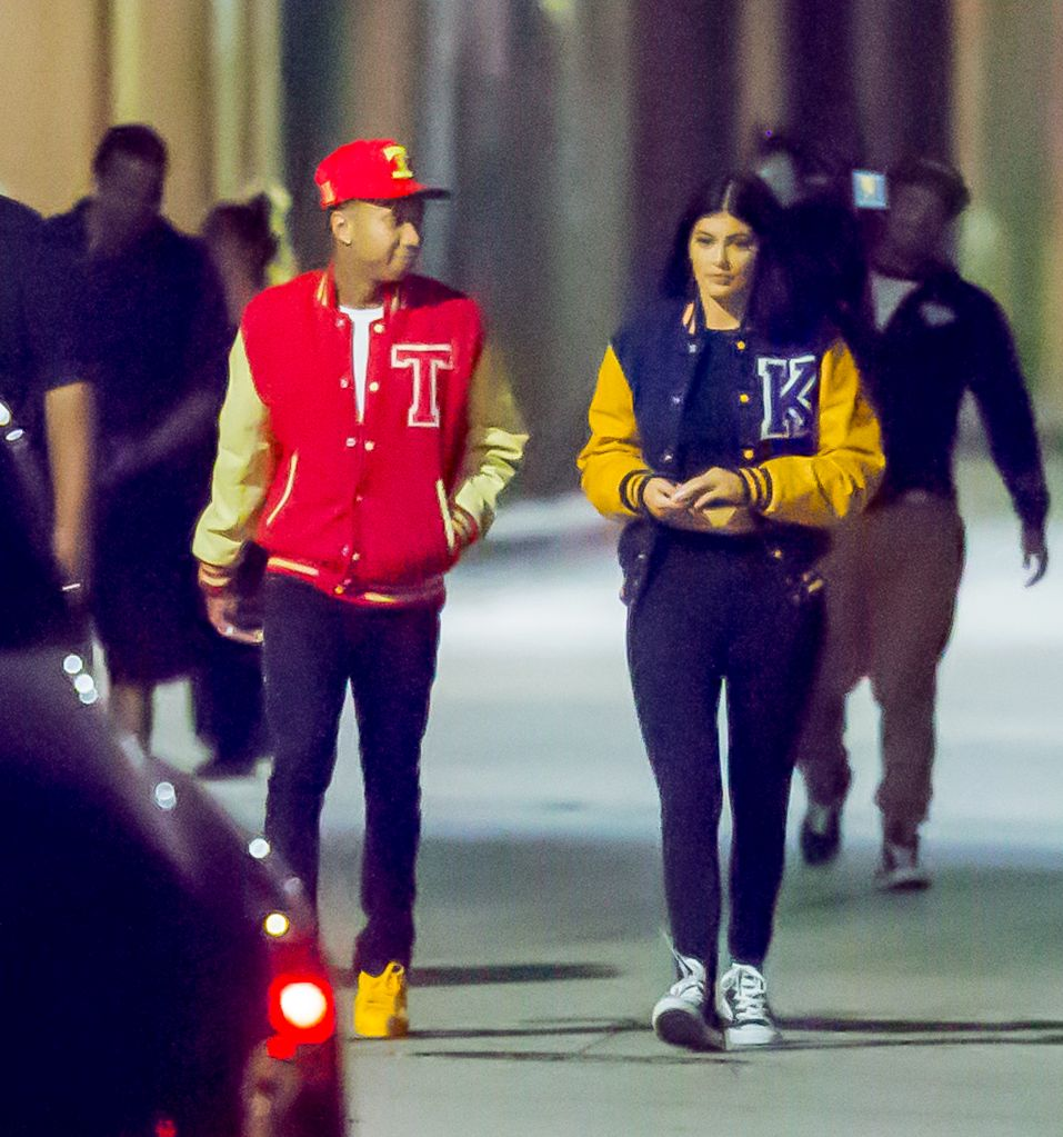 tyga and kylie shoot new music video