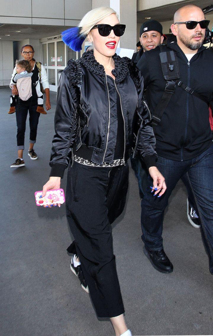 Gwen At LAX.