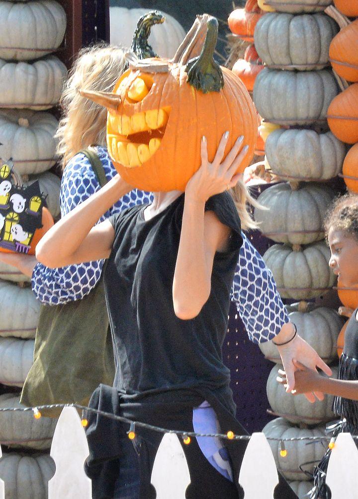 Hey, pumpkin head.