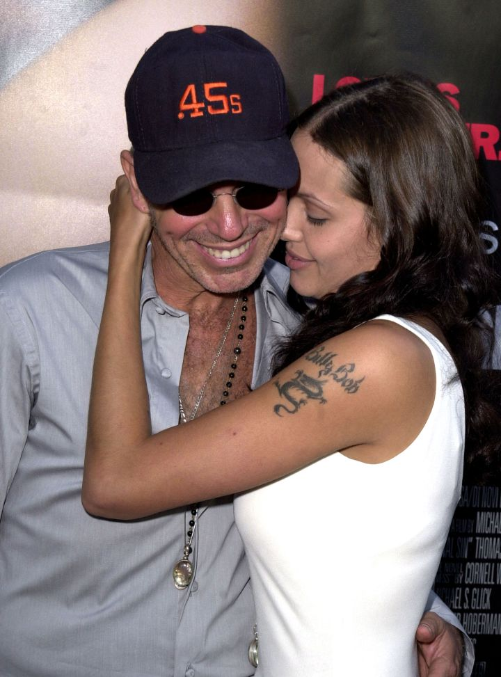 Angelina Jolie was so in love with Billy Bob Thornton, she got his name tattooed on her arm.